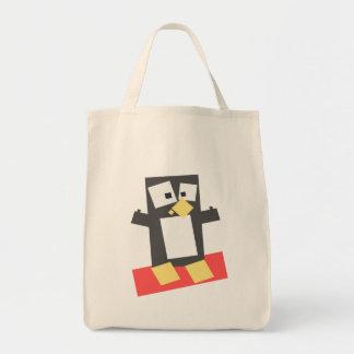Penguin Avatar Tote Bags