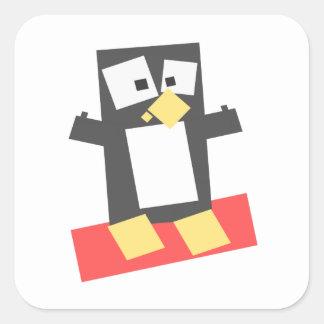 Penguin Avatar Square Sticker