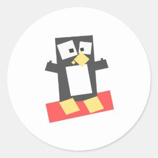Penguin Avatar Round Sticker