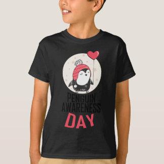 Penguin Awareness Day - Appreciation Day T-Shirt