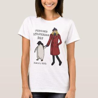 Penguin Awareness Day, light shirt