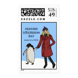 Penguin Awareness Day, Stamps