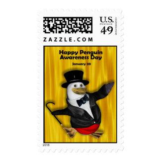 Penguin Awareness Day Postage ~ January 20