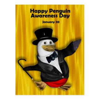 Penguin Awareness Day PostCard ~ January 20