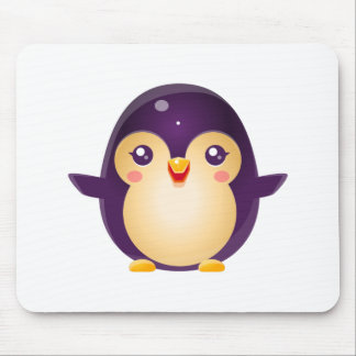 Penguin Baby Animal In Girly Sweet Style Mouse Pad