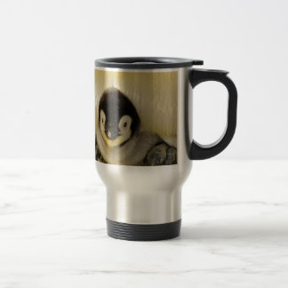 Penguin Baby Antarctic Life Animal Emperor Cute Travel Mug