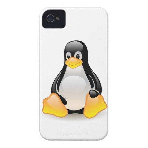 Penguin baby cute cartoon illustration, gift Case-Mate iPhone 4 case