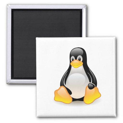 Penguin baby cute cartoon illustration, gift magnets