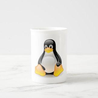 Penguin baby cute cartoon illustration, gift tea cup