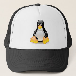 Penguin baby cute cartoon illustration, gift trucker hat