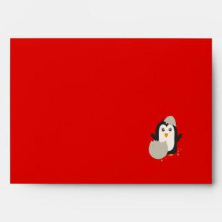 Penguin baby envelope