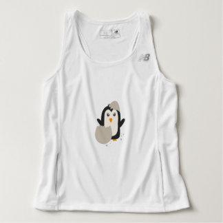 Penguin baby tank top