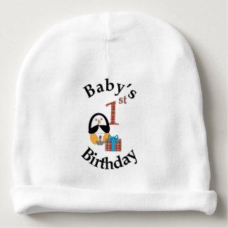 Penguin Baby's 1st Birthday Baby Beanie
