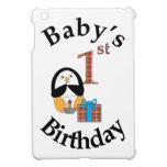 Penguin Baby's 1st Birthday iPad Mini Cover