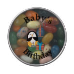 Penguin Baby's 1st Birthday Jelly Belly Tins