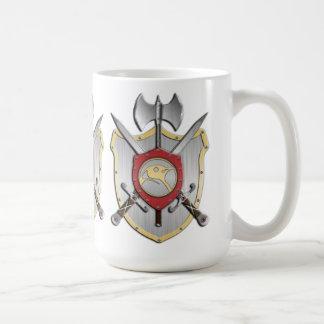 Penguin Battle Crest Coffee Mug