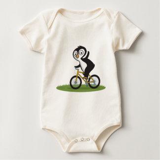 Penguin Biker Baby Bodysuit