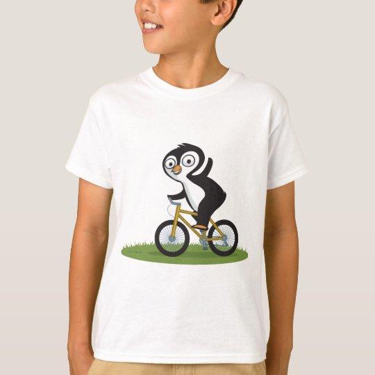 Penguin Biker T-Shirt