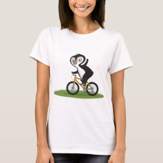 Penguin Biker T-Shirt