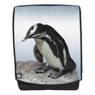 Penguin Bird Animal Boldface Backpack