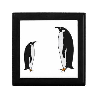 Penguin Birds Jewelry Box