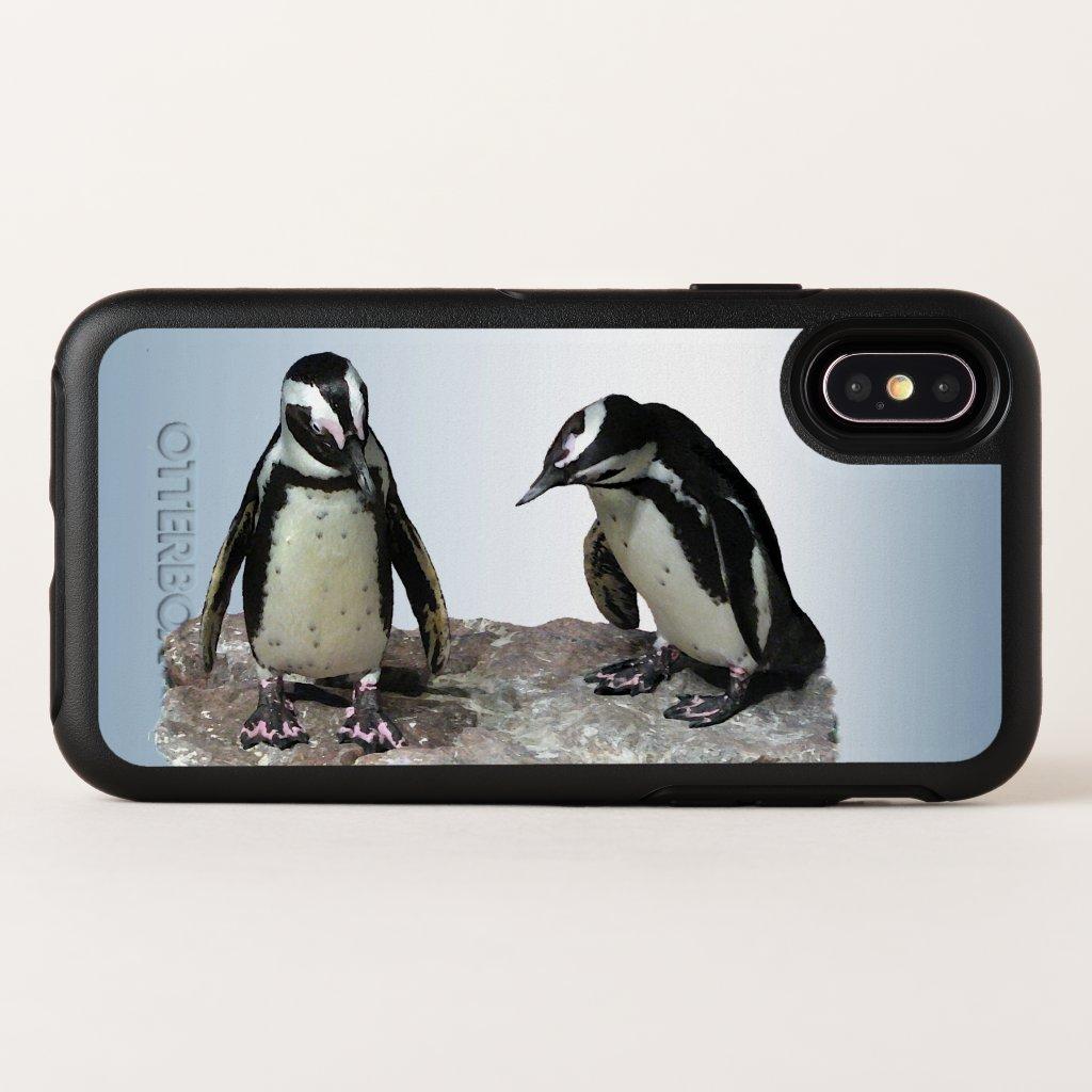 Penguin Birds OtterBox iPhone X Case