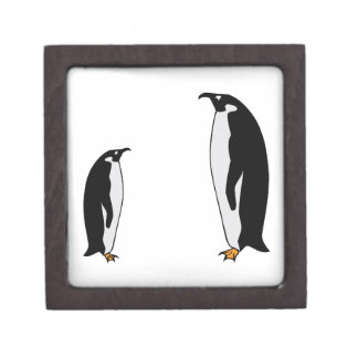 Penguin Birds Premium Keepsake Box