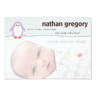 Penguin Birth Announcement