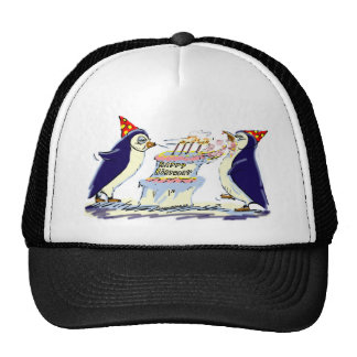 PeNgUiN BiRtHdAy Trucker Hat