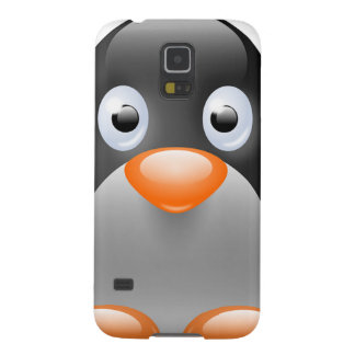 Penguin Black White Bird Feathers Destiny Cases For Galaxy S5