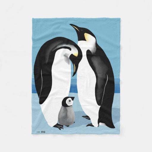 Penguin Blankets Fleece Blanket