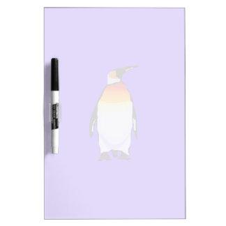 Penguin Blue Dry Erase Board