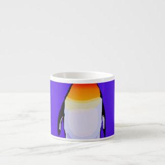 Penguin Blue Espresso Cup
