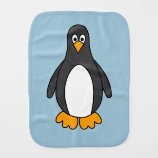 Penguin Burp Cloth
