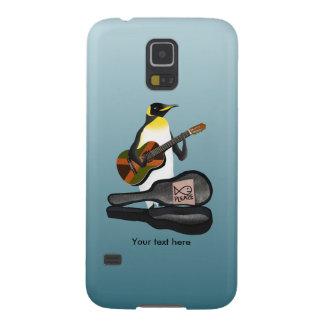 Penguin Busking Galaxy S5 Case