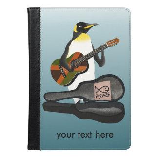 Penguin Busking iPad Air Case