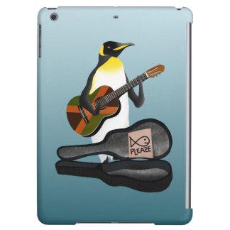 Penguin Busking iPad Air Covers