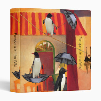 Penguin Cafe 3 Ring Binder