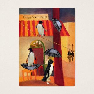 Penguin Cafe Business Card