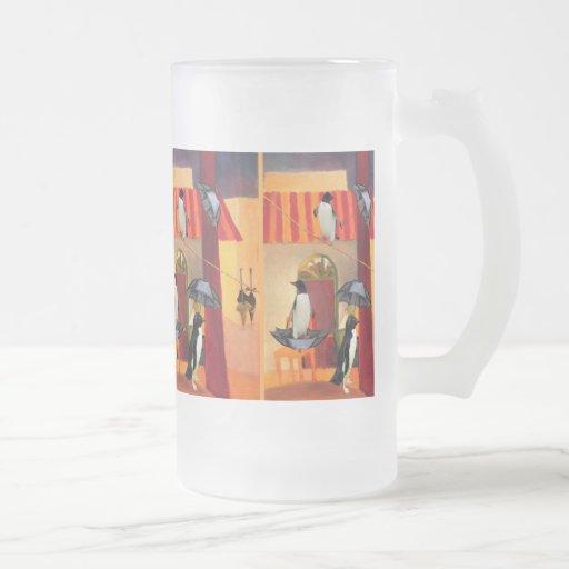 Penguin Cafe Coffee Mugs