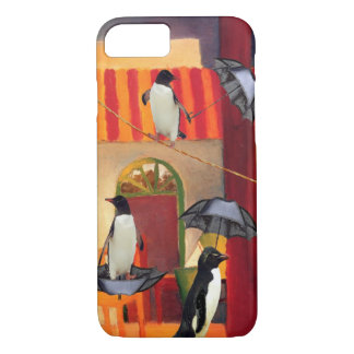 Penguin Cafe iPhone 8/7 Case