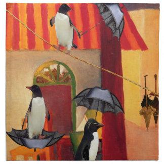 Penguin Cafe Printed Napkin