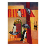 Penguin Cafe Print