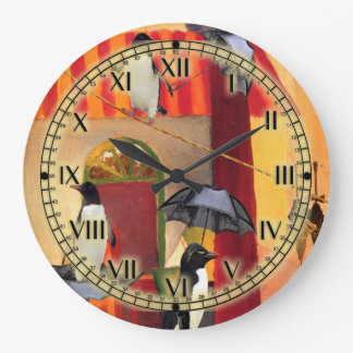 Penguin Cafe Wall Clocks
