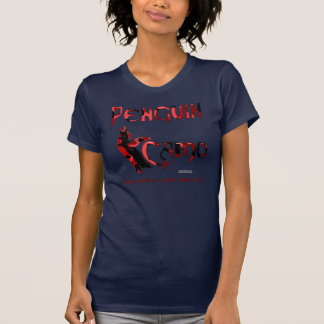 Penguin Camo Ladies ComfortSoft T-Shirt