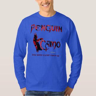 Penguin Camo Men's Long Sleeve Shirt