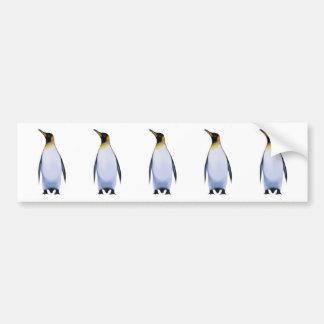 Penguin Car Bumper Sticker