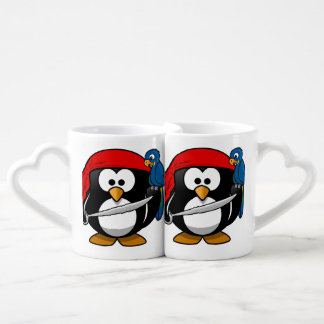 Penguin Cartoon 2014-1002 Coffee Mug Set