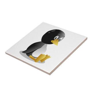 Penguin cartoon ceramic tile