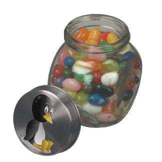 Penguin-Cartoon Jelly Belly Candy Jars